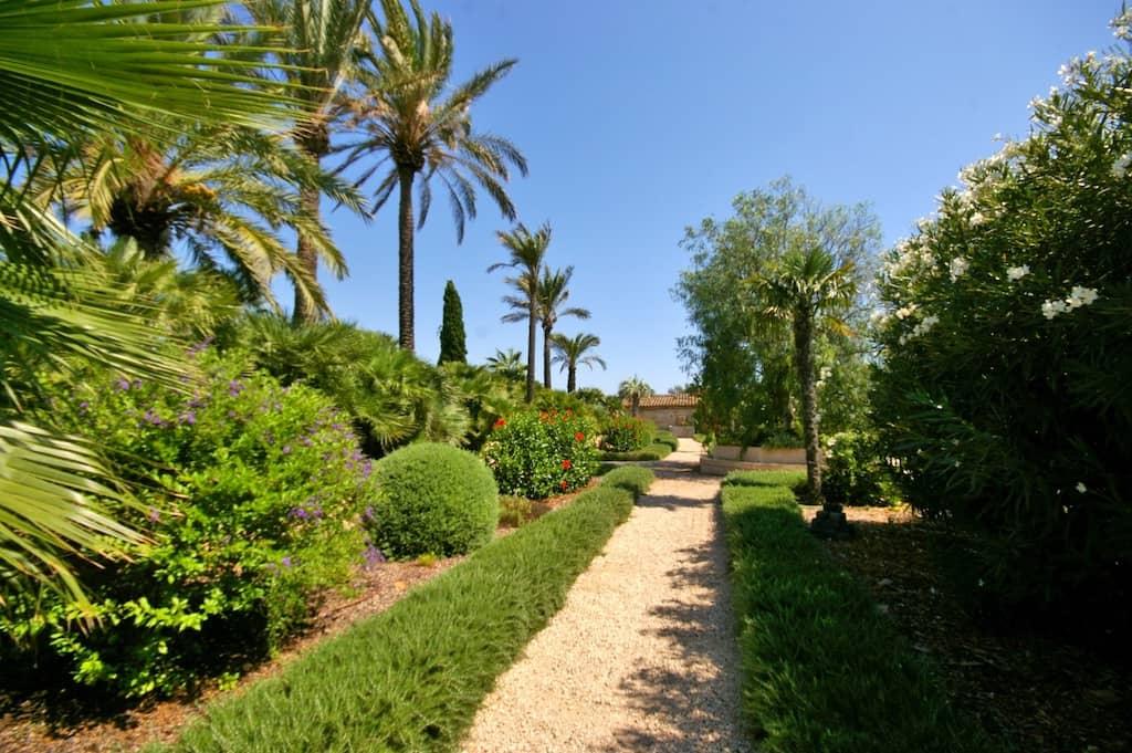 Jardines en Mallorca - Cal Reiet - Viveros Pou Nou