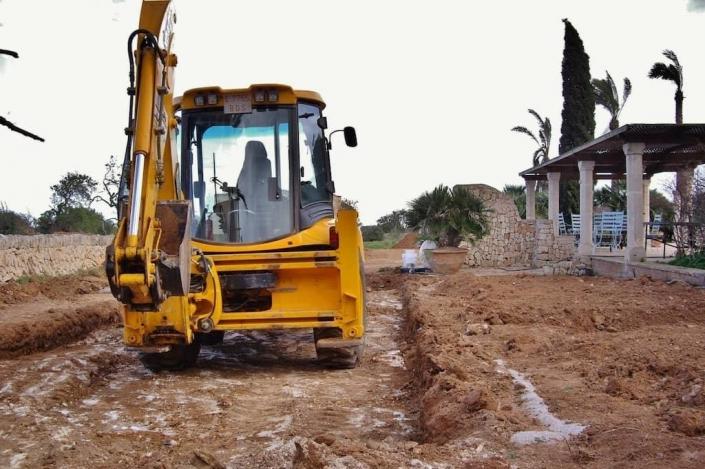 Construcción de Jardines en Mallorca - Cal Reiet - Viveros Pou Nou