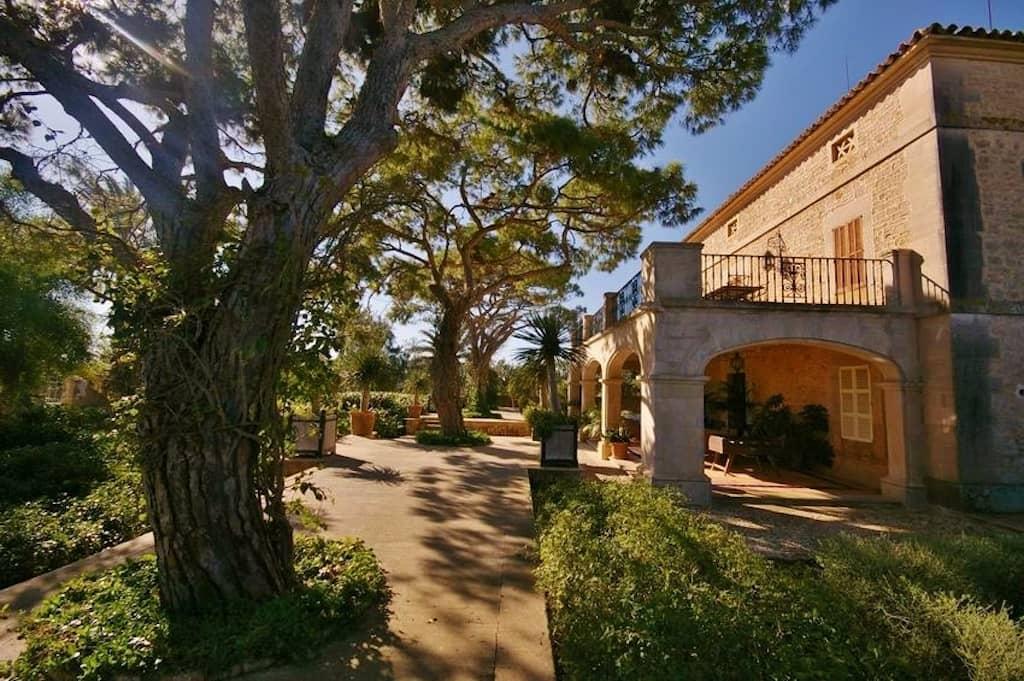 Details des Gartens auf der Finca Cal Reiet - Mallorca - Gartencenter Viveros Pou Nou