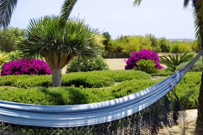 Garden designed by Maria Sagreras in Can Pulla - Mallorca - Viveros Pou Nou