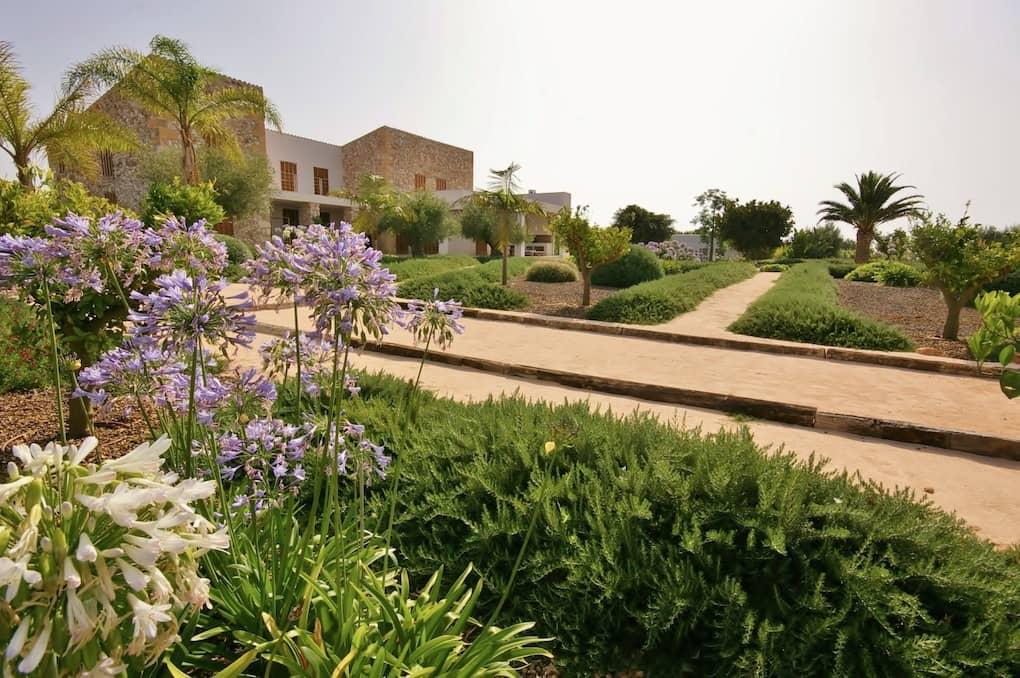 Landschaftsprojekt des Gartencenters Viveros Pou Nou in Can Pulla - Mallorca - Viveros Pou Nou