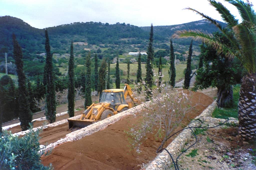 Landscaping project of Maria Sagreras in finca Es Turó - Mallorca - Viveros Pou Nou