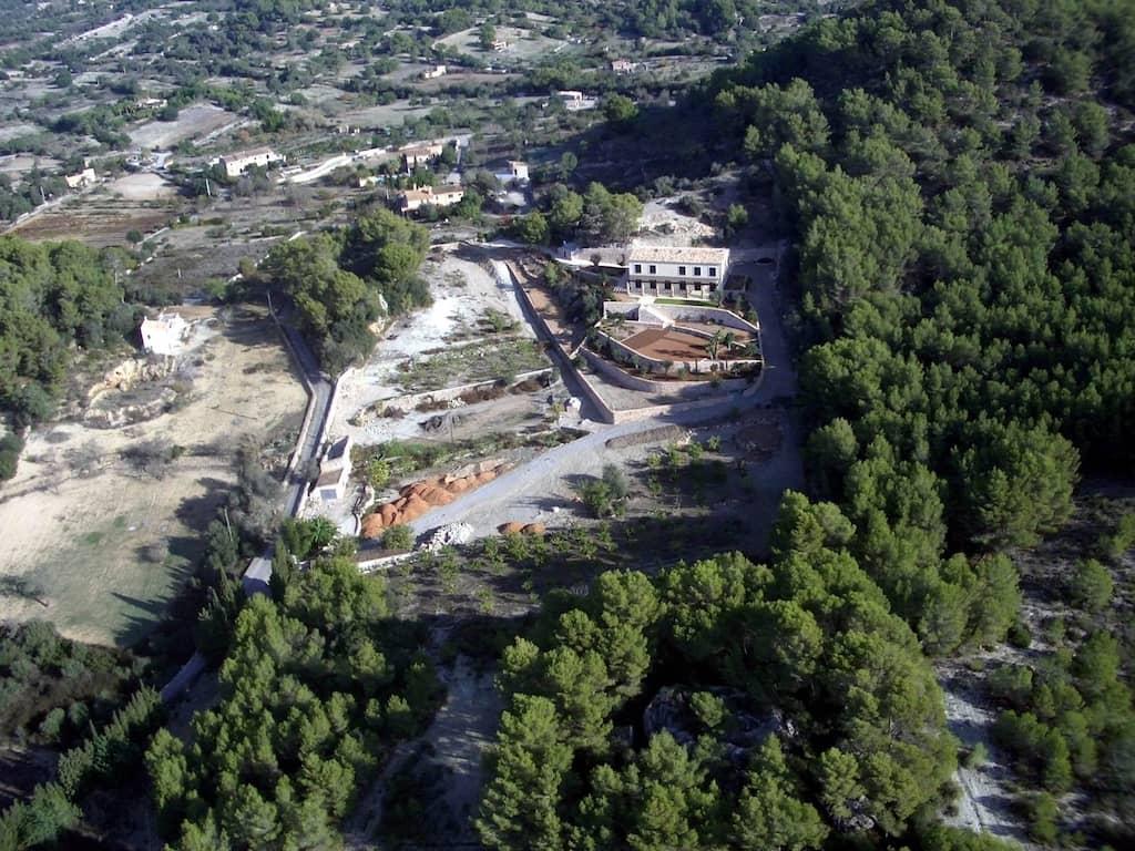 Jardín en Es Carritxó - Diseño y construcción de jardines en Mallorca