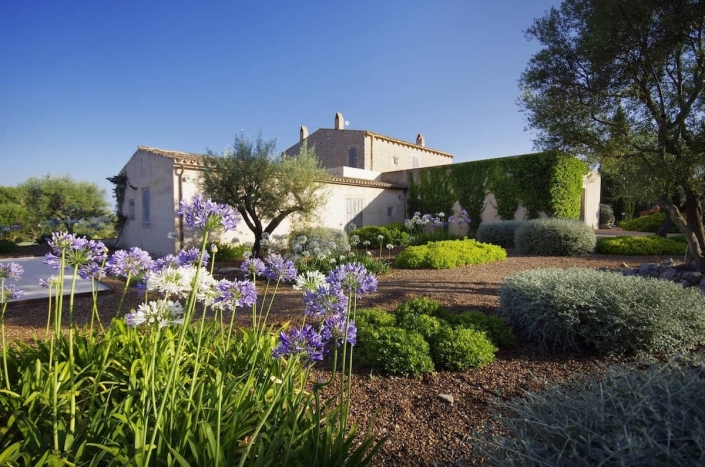 Landscaping In Mallorca - Son Rierol garden design