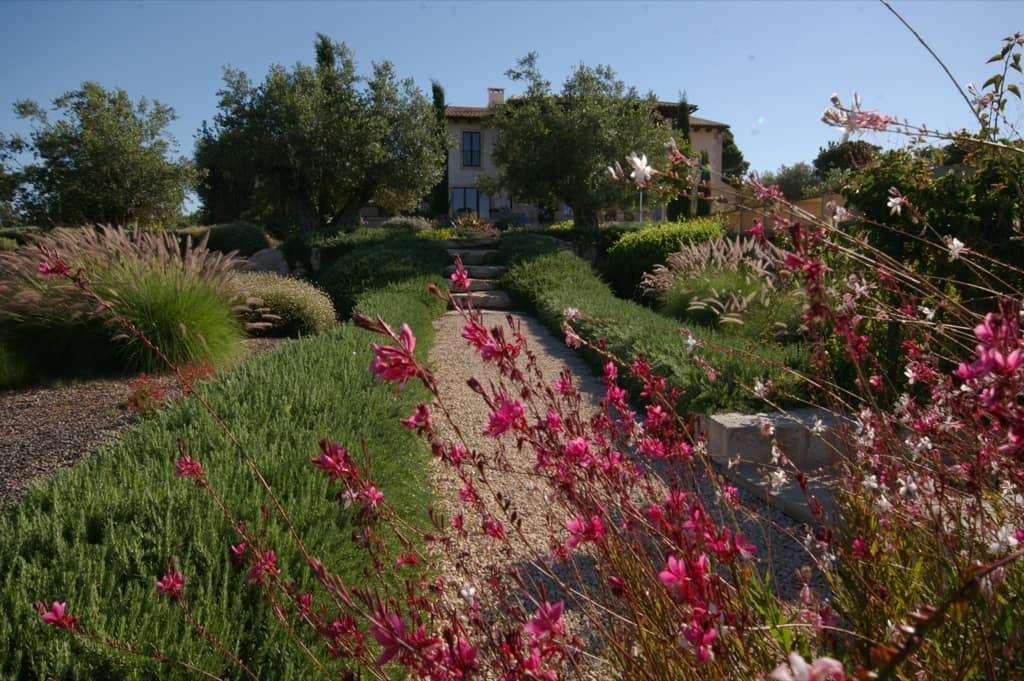 Garden designed by Maria Sagreras in Son Ferreret - Mallorca - Viveros Pou Nou