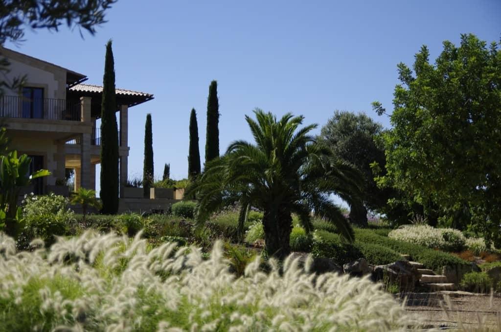 Garden designed by Maria Sagrera in Son Ferreret - Mallorca - Viveros Pou Nou
