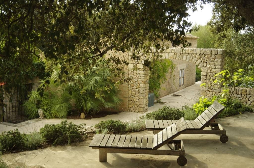 Proyecto de Viveros Pou Nou- Diseño del jardín en Son Font