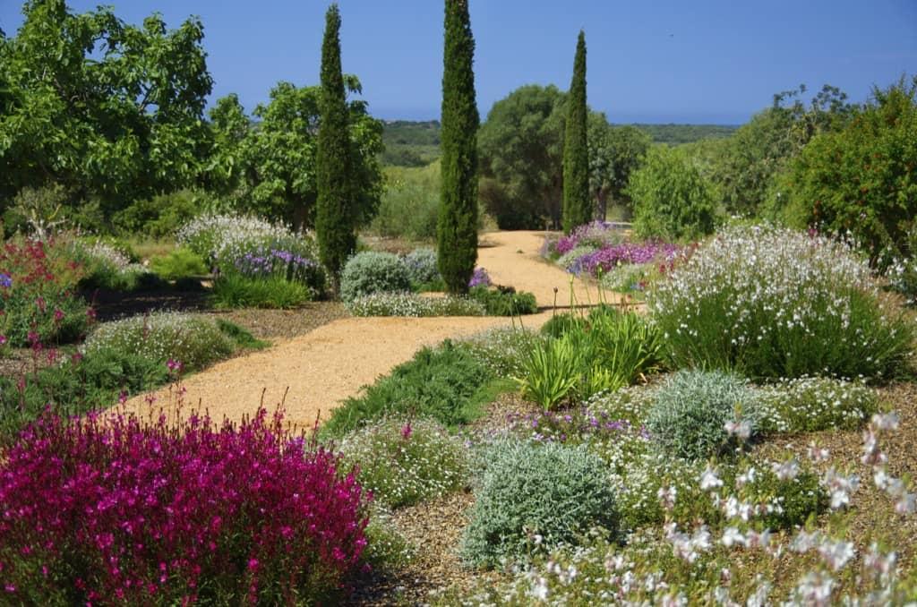 Garden designed by Maria Sagreras in Sta. Marina - Mallorca - Viveros Pou Nou