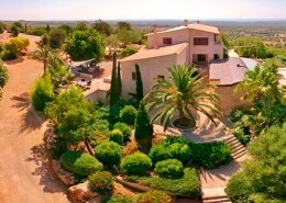 Diseño jardín en finca Consolació - Mallorca - Viveros Pou Nou
