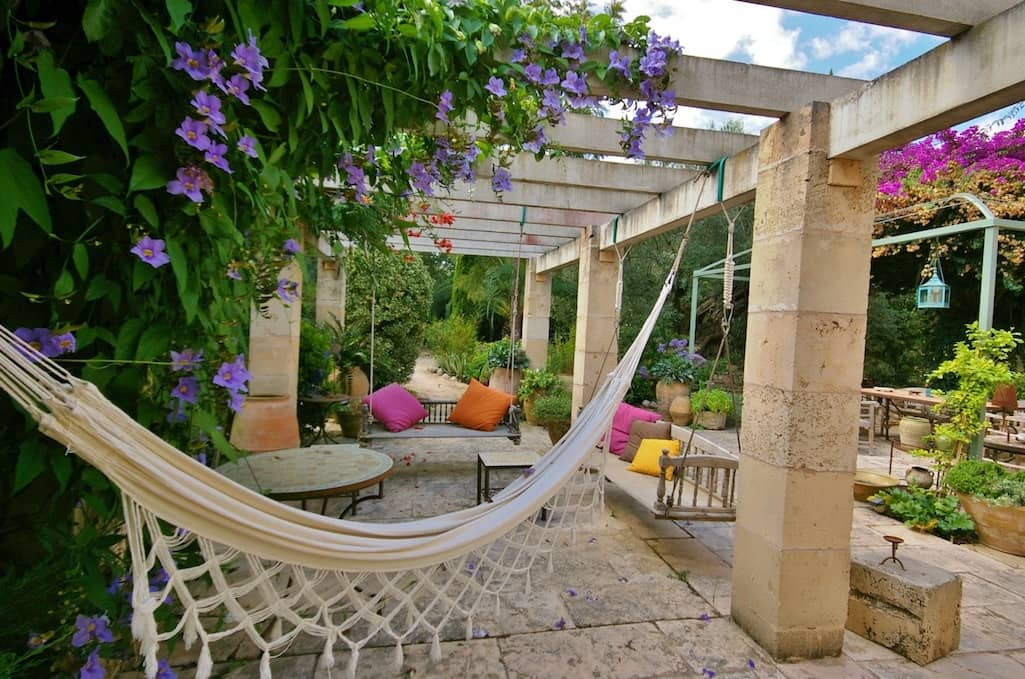 Sa Mesquida Garten von Viveros Pou Nou entworfen - Mallorca
