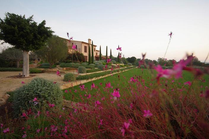 Schaffung-Garten-Landschafts-in-Mallorca